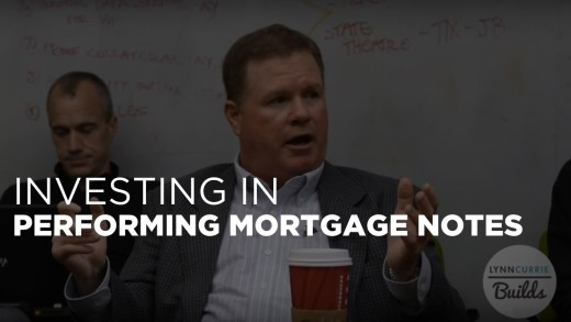 Performing Mortgage Notes with Robert Young of The Texas Note Company